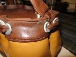 Designer Handbag Cake: buckledetail