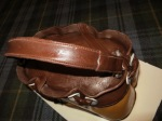 Designer Handbag Cake: strapdetail