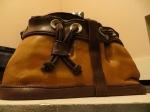 Designer Handbag Cake: frontview